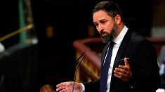 El líder de Vox, Santiago Abascal, es el candidato de la moción de censura contra Sánchez.