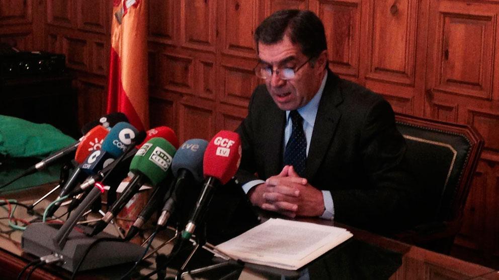 El presidente del Tribunal Superior de Justicia de Andalucía (TSJA), Lorenzo del Río. Foto: EP
