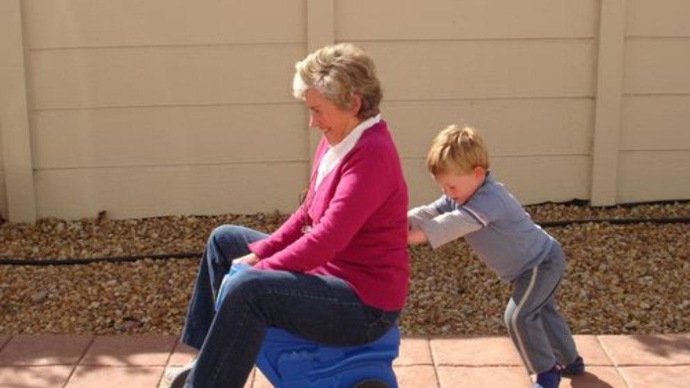 Las personas mayores pueden desarrollar músculos con ejercicio