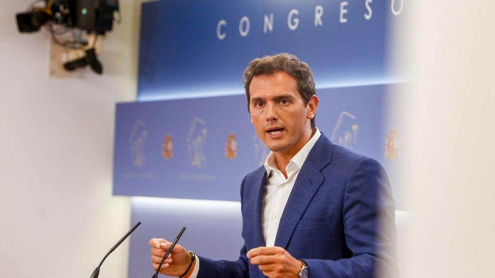 Albert Rivera. Foto: Europa Press