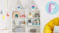 Pasos para hacer una estantería con forma de casita