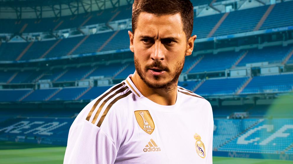 Hazard debutará en partido oficial con el Real Madrid ante el Levante.