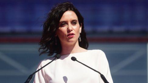 Isabel Díaz Ayuso en IFEMA. (Foto. Comunidad)