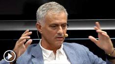 José Mourinho, en un acto de La Liga en Madrid.