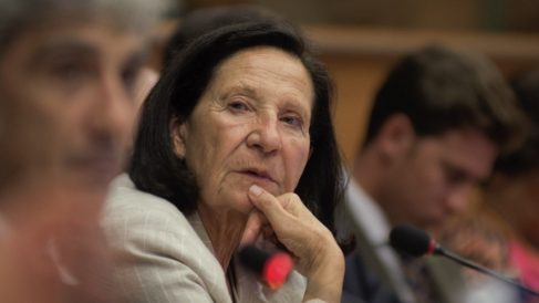 La eurodiputada Mazaly Aguilar. (Foto. Vox)