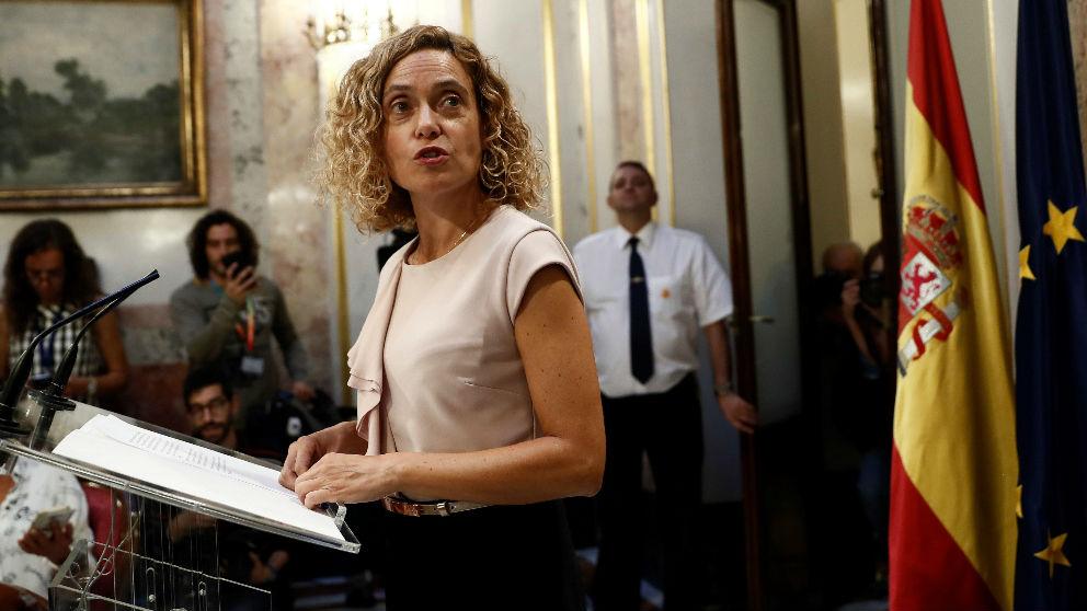 La presidenta del Congreso, Meritxell Batet. (Foto: Europa Press)