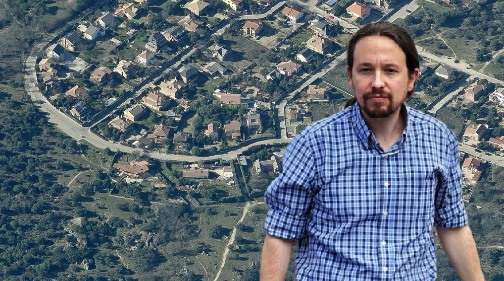 Pablo Iglesias y la urbanización de Galapagar La Navata.