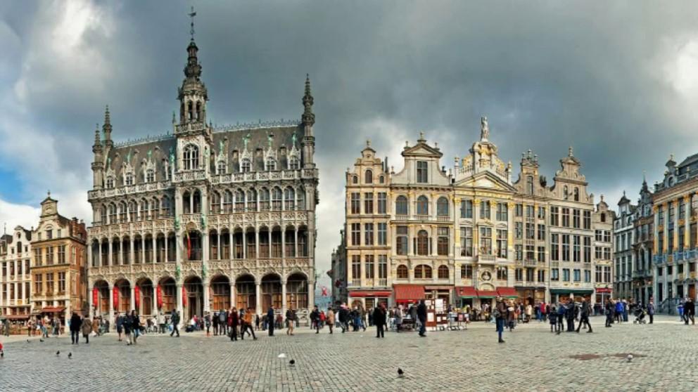La arquitectura que hay en la Grand Place de Bruselas es impresionante