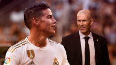 James Rodríguez ha reconquistado a Zidane.