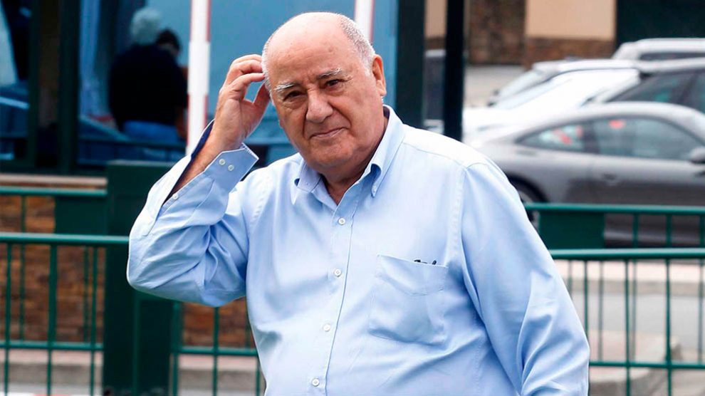 Amancio Ortega fundador de Inditex.