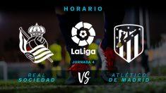 Liga Santander 2019-2020: Real Sociedad – Atlético de Madrid | Horario del partido de fútbol de Liga Santander.