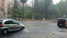 La tormenta en Palma. Foto: Europa Press