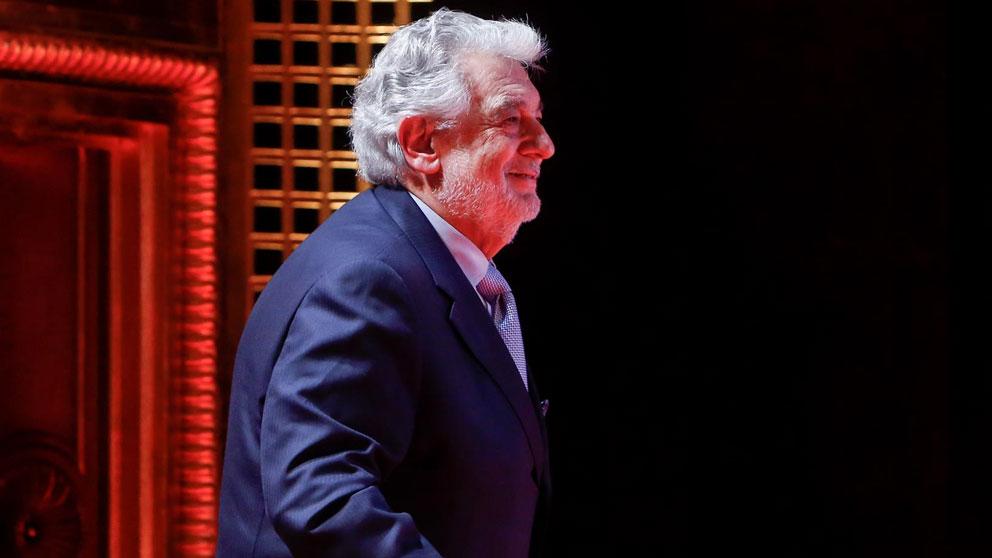 El tenor español Plácido Domingo. Foto: EP