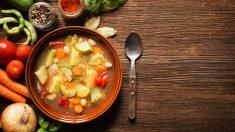 Receta de Sopa vegana