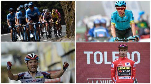 Todos contra Movistar en la Vuelta a España.