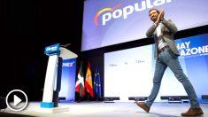 Pablo Casado, en la Convención del PP vasco. Foto: EFE
