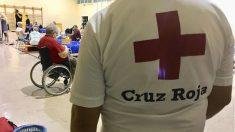 Cruz Roja atiende a personas por la Gota Fría. Foto: Europa Press