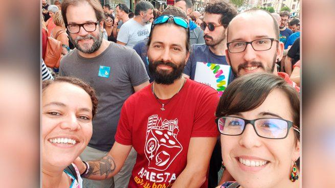 Podemos se manifiesta en Bilbao a favor de 47 procesados por «pertenencia» a ETA