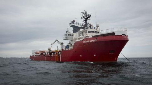 El Ocean Viking. Foto: Europa Press