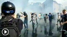 Disturbios de los Chalecos amarillos.
