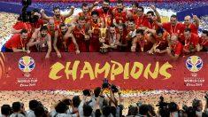 La celebración de la Selección de España de Baloncesto, en directo