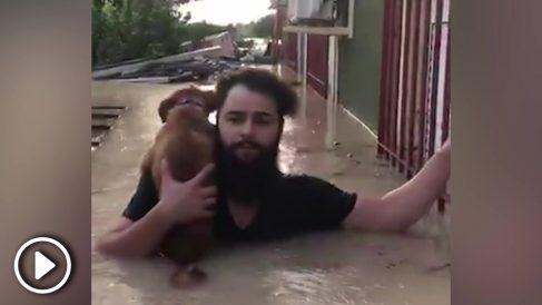 Inundaciones en Ribera de Molina (Murcia).