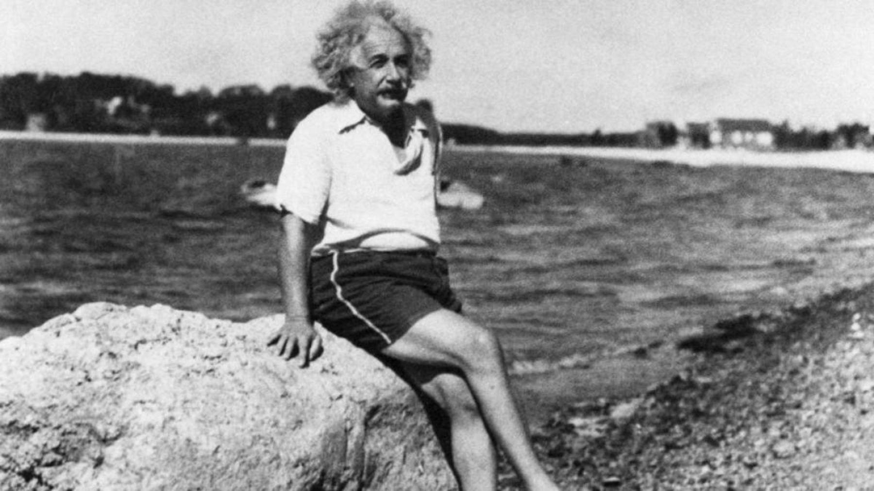 El científico Albert Einstein