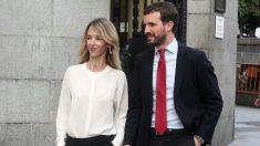 Cayetana Álvarez de Toledo y Pablo Casado. (Ep)