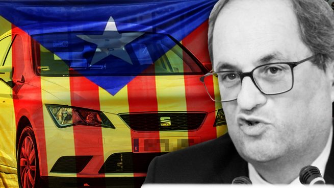Torra ataca a Seat por no incluir el catalán en el Tavascan, su nuevo coche con nombre de pueblo leridano