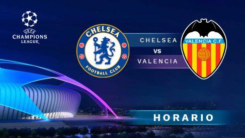 Champions League 2019-2020: Chelsea – Valencia   Horario del partido de fútbol de Liga Santander.