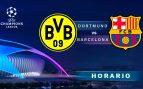 Horario Borussia Dortmund Barcelona