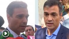 Pedro Sánchez en las inundaciones de Mallorca y en las de Almansa (Albacete).