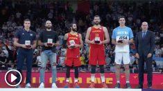 El quinteto ideal de la FIBA. (FIBA)