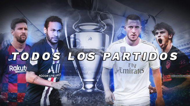 partidos hoy champions league
