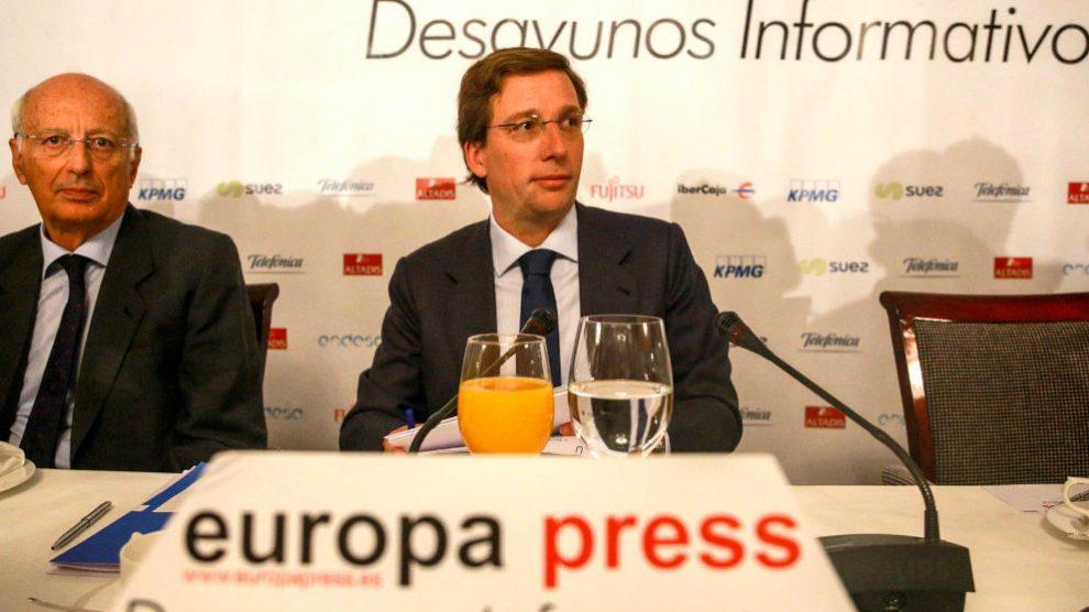 José Luís Martínez Almeida. Foto: Europa Press