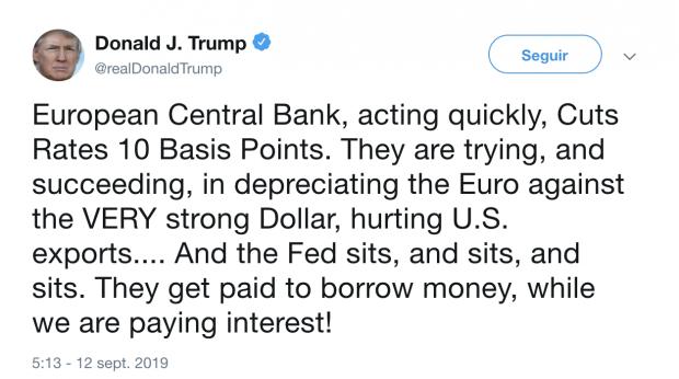 La guerra entre los bancos centrales