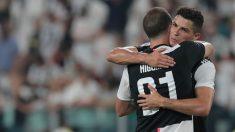 Cristiano e Higuaín, en un partido de la Juventus. (Getty)