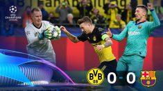 Ter Stegen salvó al Barça en su visita a Alemania.