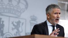 El ministro del Interior en funciones, Fernando Grande Marlaska. Foto: EFE