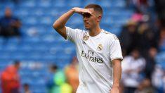 Hazard, en el partido de Liga contra el Levante. (Getty)