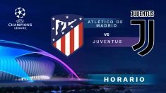 Atlético de Madrid – Juventus: jornada 1 de la Champions League.