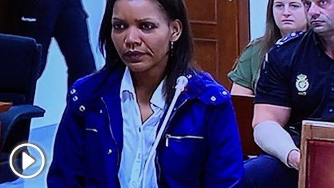 Ana Julia Quezada, en el banquillo de los acusados. Foto: Joan Guirado