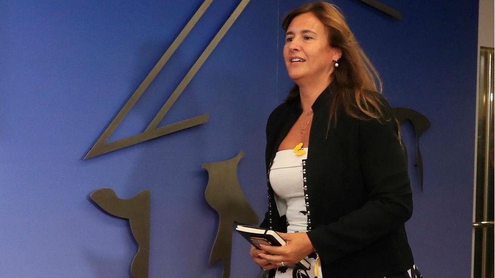 Laura Borràs. Foto: EFE