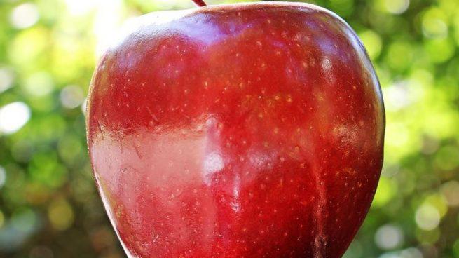 tomar una manzana al día