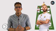 Zidane ya tiene decidida la alineación del Real Madrid contra el PSG. (vídeo: Juanma Yela)