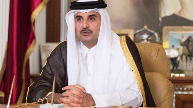 emir de qatar