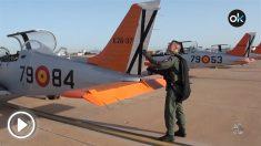 Los alumnos de la Academia del Aire vuelan las avionetas 'Tamiz' como la accidentada en el Mar Menor.