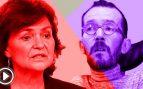 Carmen Calvo no quiere hacer autocrítica: «Ya nos han hecho mucha todos los demás»