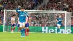 Cristiano se marchó con victoria pero sin gol del Metropolitano. (Enrique Falcón)