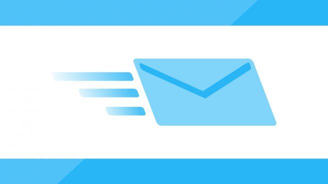 un correo electrónico